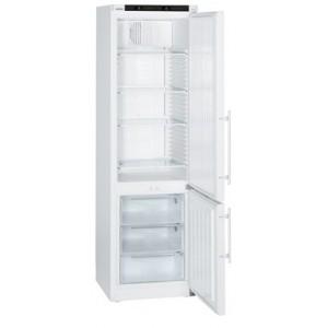 Frigorífico ventilado para laboratorio Mediline Atex 95, 240-105 litros, color blanco con cerradura