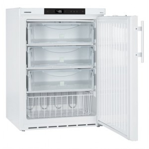 Congelador ventilado y estático para laboratorio Mediline Atex 95, 129 litros, color blanco (-9ºC_-26ºC)