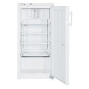 Armario frigorífico ventilado para laboratorio Atex 95, 240-221 litros, color blanco con cerradura (+3ºC_+16ºC)