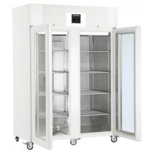 Armario frigorífico ventilado para laboratorio de uso profesional, 1427 litros, blanco-Cristal con gas R-290 (0ºC_+16ºC)