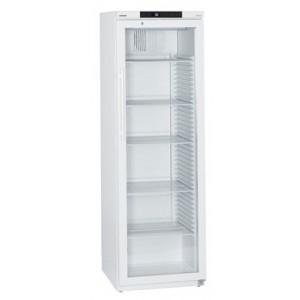 Frigorífico ventilado Mediline, 344 litros, color blanco con puerta de cristal (+3ºC_+16ºC)