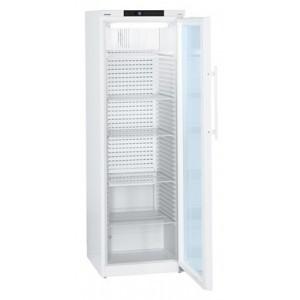 Refrigerador para farmacia conforme a Norma DIN 58345 de 360 litros, color blanco con puerta de cristal (+5ºC)