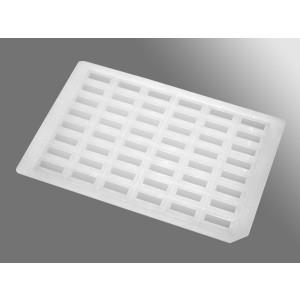 Precinto de sellado ImpermaMat de silicona para placa deepwell de 48 pocillos rectangulares, no estéril, 50 Uds.