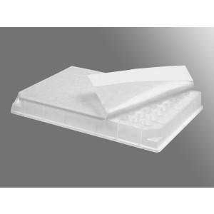 Precinto de sellado transpirable para placa de 96 pocillos, cultivo de celular o bacteriano, no estéril,1000Uds