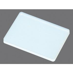 Precinto de sellado por compresión plana para placa PCR 96 pocillos fondo redondo, no estéril, 50 Uds.
