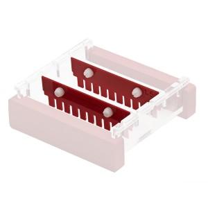 Bandeja para geles de 10 x 10 cm para uso con cubeta de 10 cm, UV, transparente, 1 Ud.