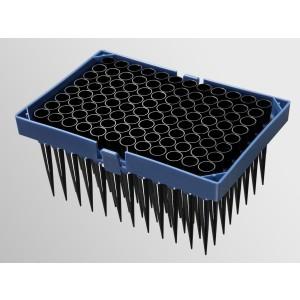 Puntas robóticas 300µl para Hamilton,detección de nivel de líquido,sin filtro,racks aniadados,4Racks_Pack,30Packs_Caja