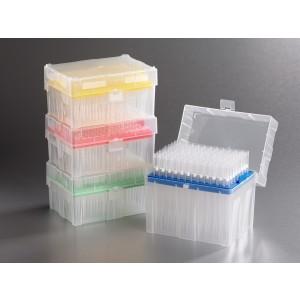 Puntas de pipeta MultiRack de 300 ul estériles, en rack, de baja retención, 960_pack, 5 packs_caja