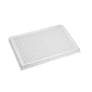 Microplaca PCR 384 pocillos Rigiplate con faldón, transparente, no estéril, 100 Uds.