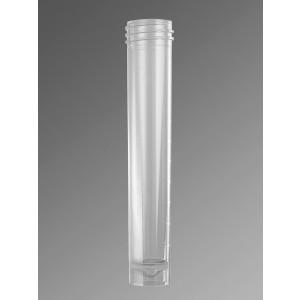 Tubos para transporte de muestras 10 ml sin tapón rosca, transparente, polipropileno, no estéril, 2000 Uds.