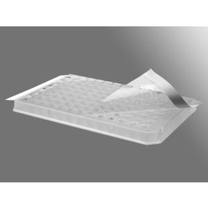 Película de sellado ultraclara para placa de qPCR, 70 µm, no estéril, 100 ud_Pack, 5 Packs_Caja