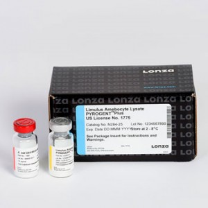 Test Detección Endotoxinas Pyrogent Plus Gel Clot 200 tests, 4 x 50 Tests_Vial,1 x 10 ng_vial, 5 ml Vial, 0.25 EU_ ml