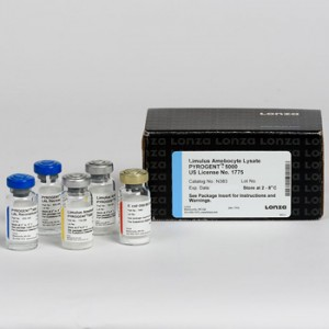 Test Detección Endotoxinas turbidimetrico Kinetic Pyrogent 5000, 1 kit de 100 tests