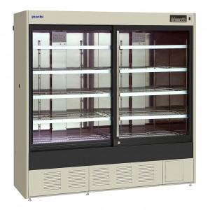 Refrigerador vertical farmacéutico con puerta corredera, 1037 L, (+2°C a +23°C)