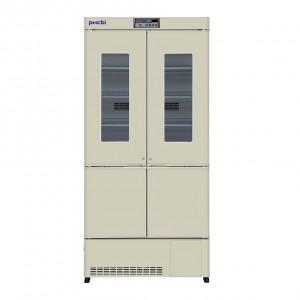 Refrigerador vertical con congelador 415 L (+2°C a +14°C)(-20°C a -30°C)