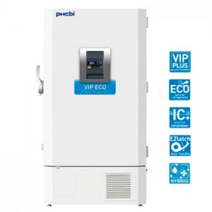 Ultracongelador vertical (-86 ºC) de 730 litros, clase médica CE IIa con aislamiento VIP, refrigerante HC, water cooling