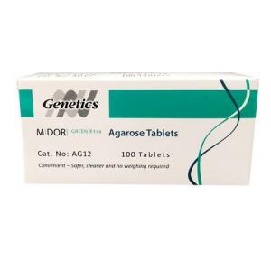 Tabletas de agarosa con Midori Green Xtra (100)