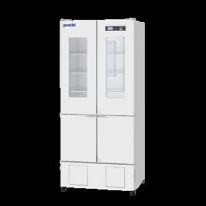 Refrigerador vertical con congelador, 326 L (+2°C a +14°C), 136L(-20°C a -30°C)