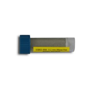 Beads de acero inoxidable de 0,2 mm para homogeneización, libres de RNasas. 4 ml