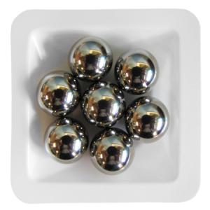 Beads de acero inoxidable para Homogeneización, 11mm, pack grande, 100 packs