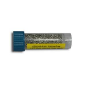 Beads de acero inoxidable para Homogeneización, libre de Arasa, 0,9-2,00mm, 1 pack