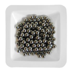 Beads de acero inoxidable para Homogeneización, 3,2 mm, 0,45 kg, 1 pack