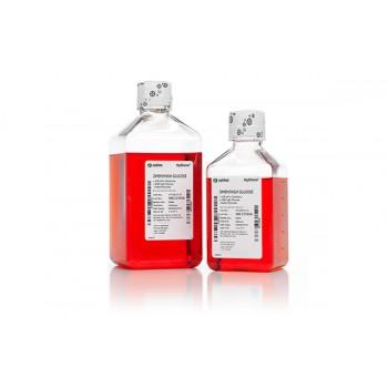 Medio DMEM, con alta glucosa, con L-Glutamina, sin Phenol Red, ni piruvato de sodio, 1 botella de 1000ml