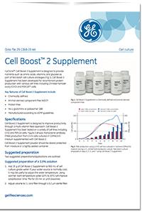Cell BoostTM 2 Supplement