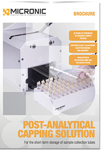 Post-analytical-capping-solution