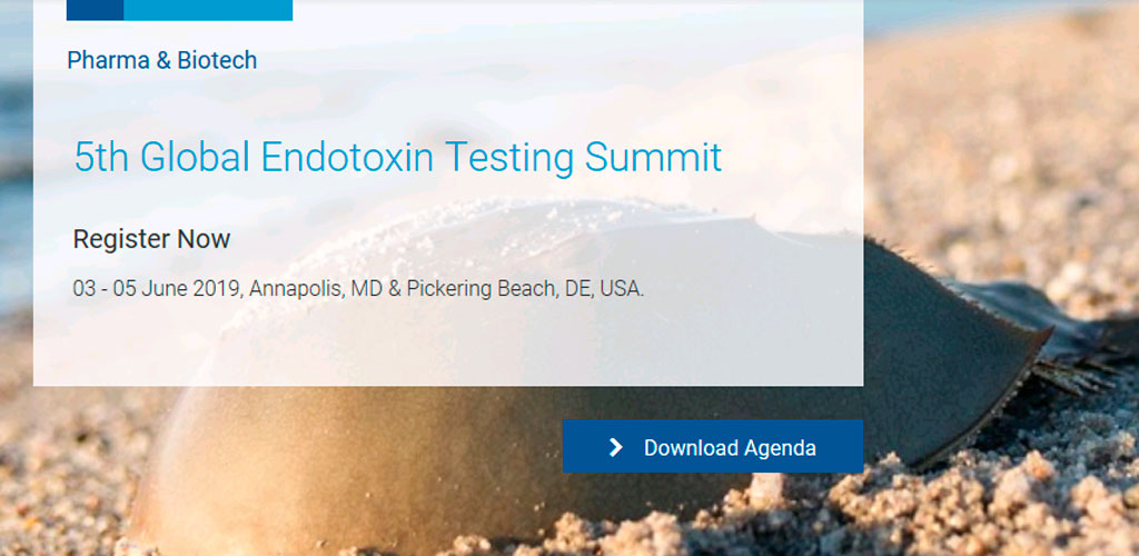 The 5th Global Endotoxin Testing Summit (3-5 June 2019)