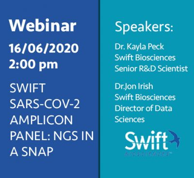 SWIFT SARS-COV-2 AMPLICON PANEL: NGS IN A SNAP