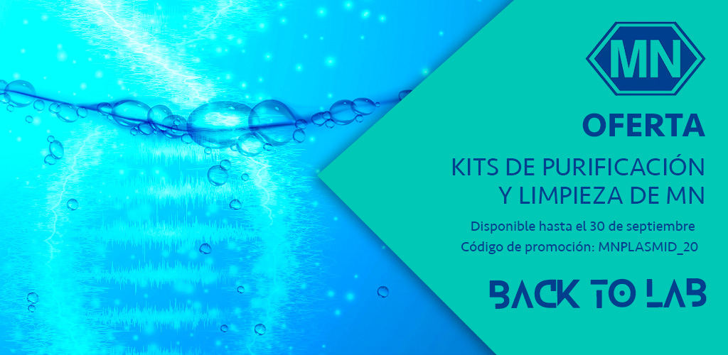 Oferta en Kits de purificación y limpieza de MN