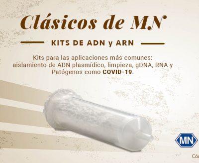 Oferta clásicos de MN. Kits de ADN y ARN