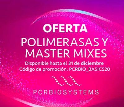 Oferta en polimerasas y mastermixes de PCR Biosystems