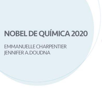 Premio Nobel de química por el desarrollo del método CRISPR-Cas9 para la edición del genoma