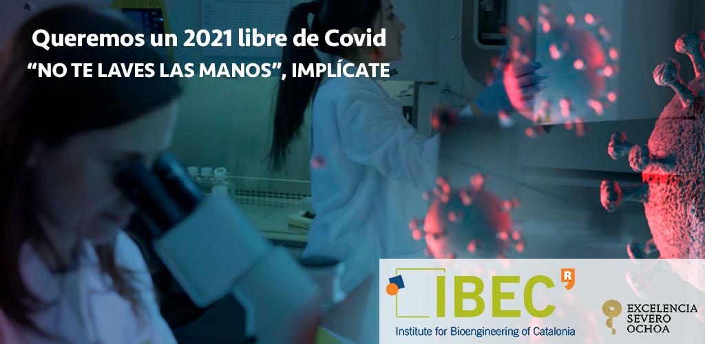 A por la Covid. Cultek en colaboración con IBEC