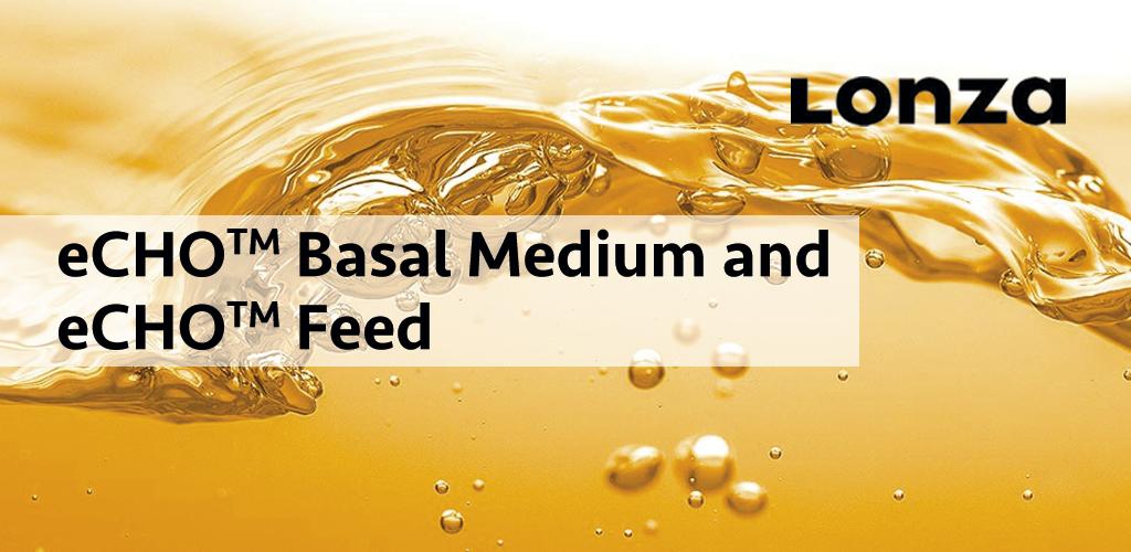 Medio basal y suplemento eCHO™  para la producción de proteínas en células CHO