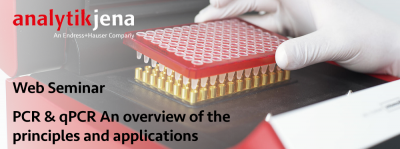 Web Seminar PCR & qPCR An overview of the principles and applications