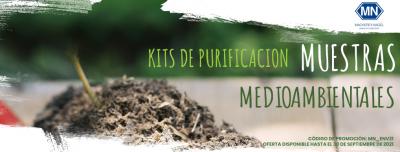Promoción kits de purificación de muestras medioambientales de Macherey Nagel