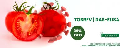 Detección del virus del fruto rugoso marrón del tomate (ToBRFV)