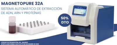 Extracción automatizada de ácidos nucleicos