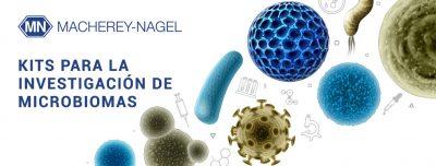 Kits de MACHEREY-NAGEL para la investigación de microbiomas