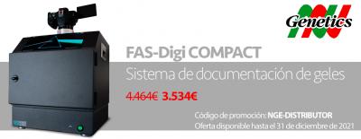 FastGene® FAS-DIGI Compact, potente sistema de imágenes de gel en un diseño compacto